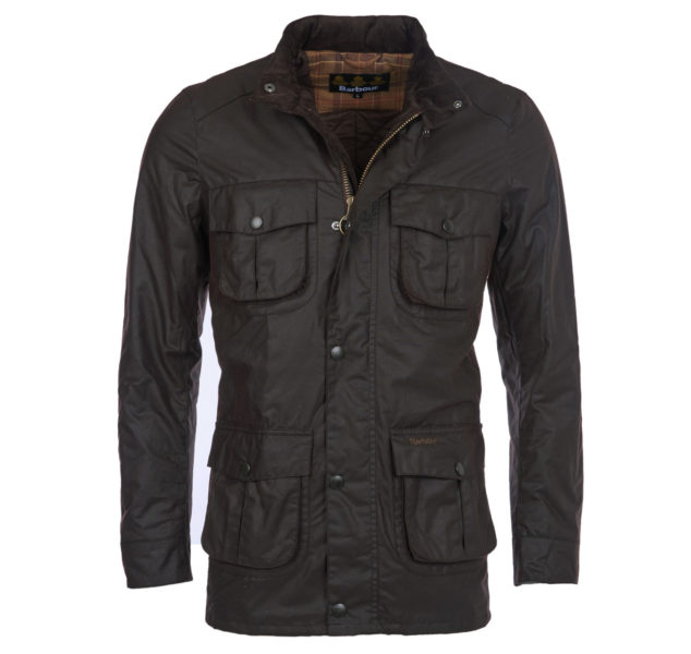 Corbridge wax jacket