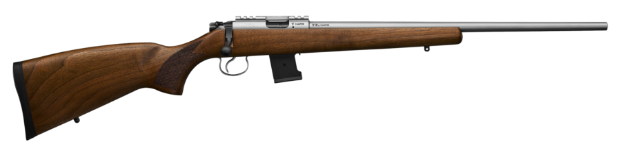 Cz 455 Stainlesss Wood