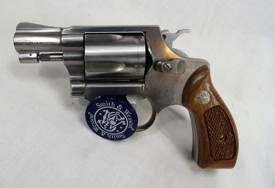 Revolver S&W Model 60 7 New Police In .38 Special. In Zeer Goede Staar. Prijs 455,00€ T585