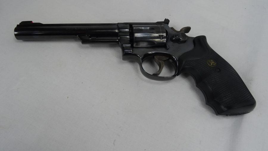 Revolver Smith&Wesson Mod 19 04 In . 357 Mag. Zeer Goede Staat. Prijs 395,00€ T660