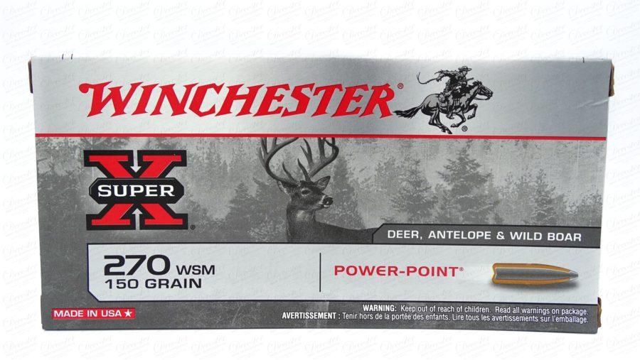 Winchester SuperX 270WSM 150grn
