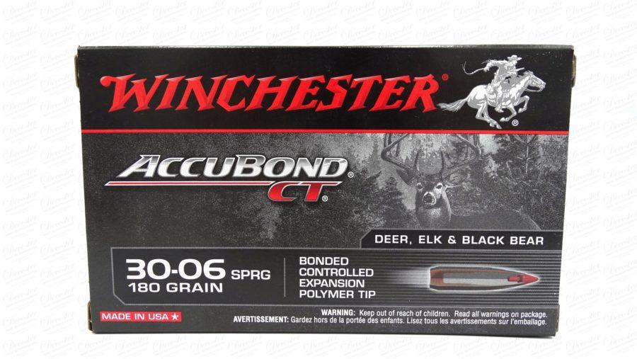 Winchester .30 06 180gr Accubond CT