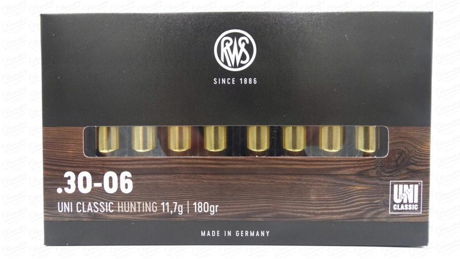 RWS 30 06 UNI Classic 180gr