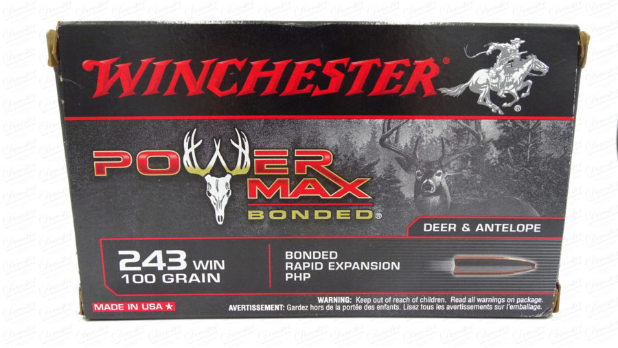 Winchester Power Max Bonded 243WIN 100gr