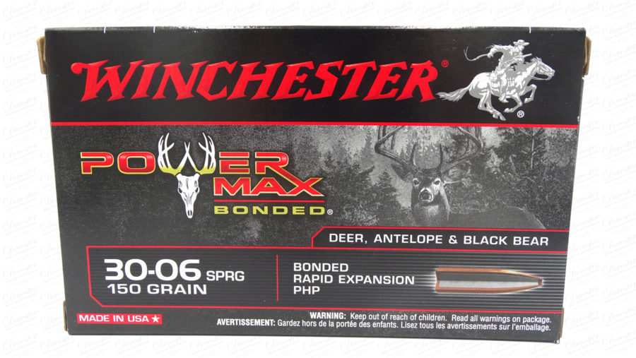 Winchester Power Max Bonded 30 06SPRG 150gr