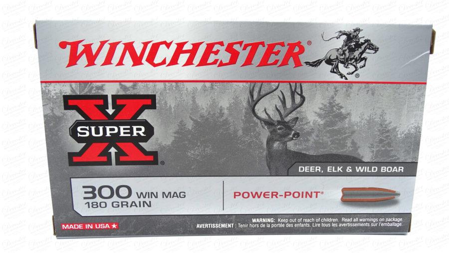 Winchester X Super 300 Win Mag 180gr