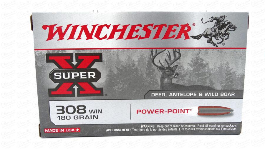 Winchester X Super 308 WIN 180gr Power Pointt
