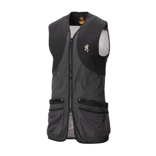 SHOOTING VEST CLASSIC ANTHRACITE 1