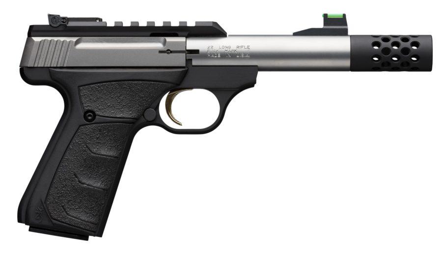 Browning Buckmark Pistol Micro Bull Stainless SR – 051549490