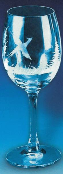 Glas Witte Wijn 1