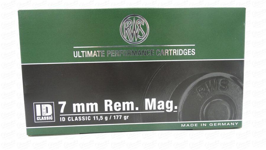 RWS 7mm Rem Mag ID Classic 177gr
