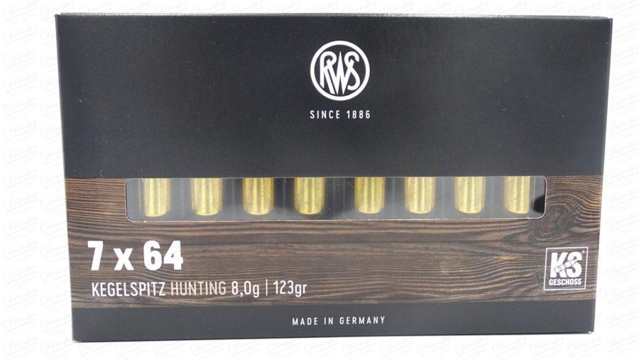 RWS 7x64 KS 123gr