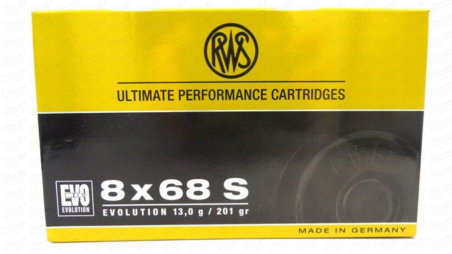 RWS 8x68S Evolution 201 Gr