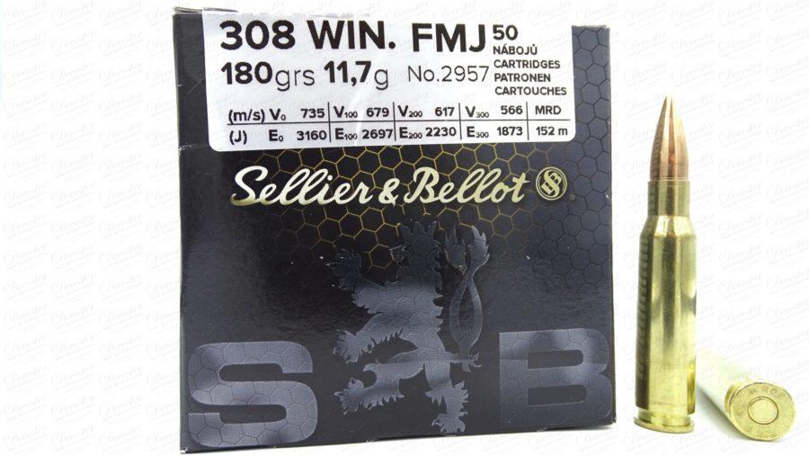 Selier&Bellot 308WIN 180grs FMJ