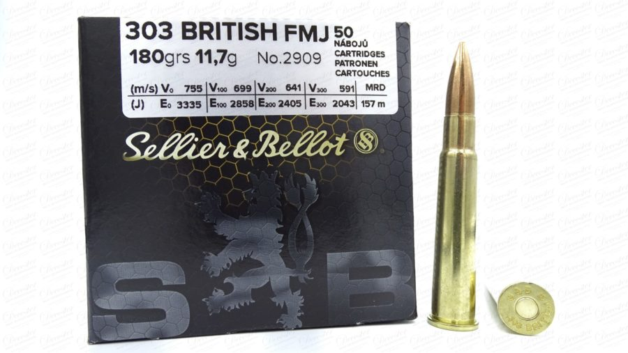 Sellier Bellot 303 British FMJ 180gr