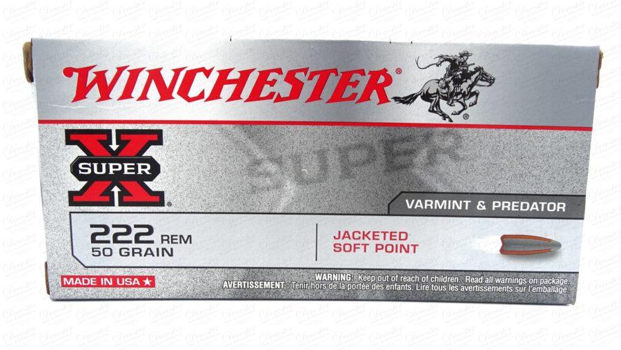 Winchester Super X 222 Rem JSP 50gr
