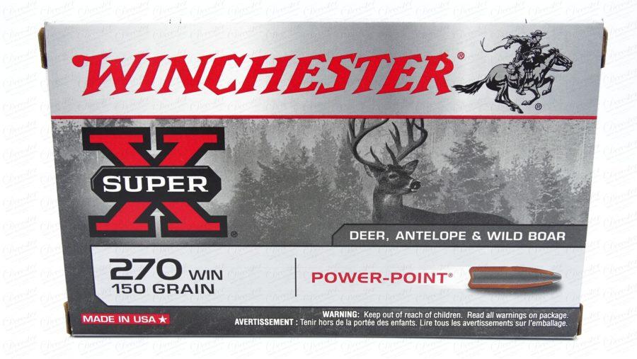 Winchester Super X 270WIN 150gr