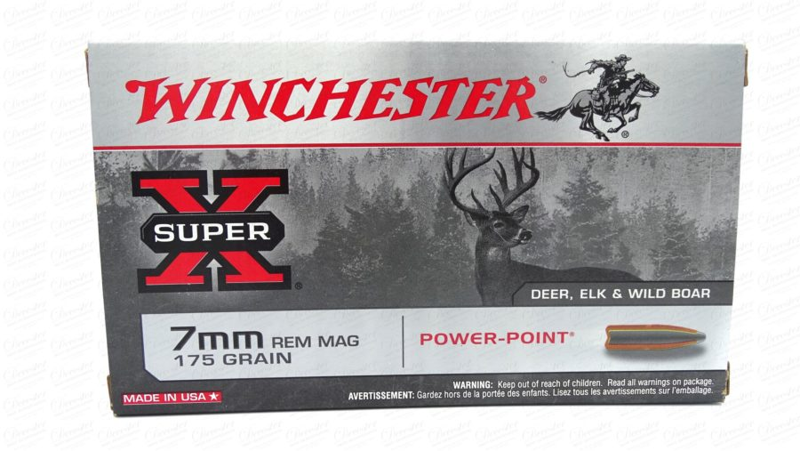 Winchester Super X 7mm Rem Mag Powerpoint 175gr