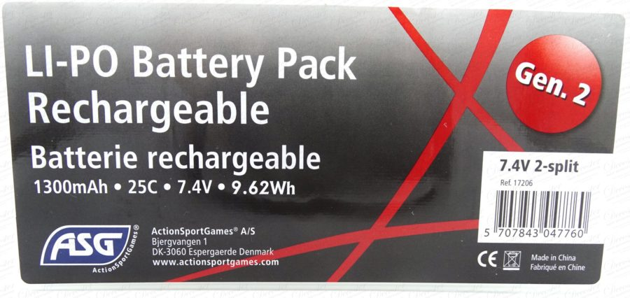 ASG LIPO Battery Pack 2