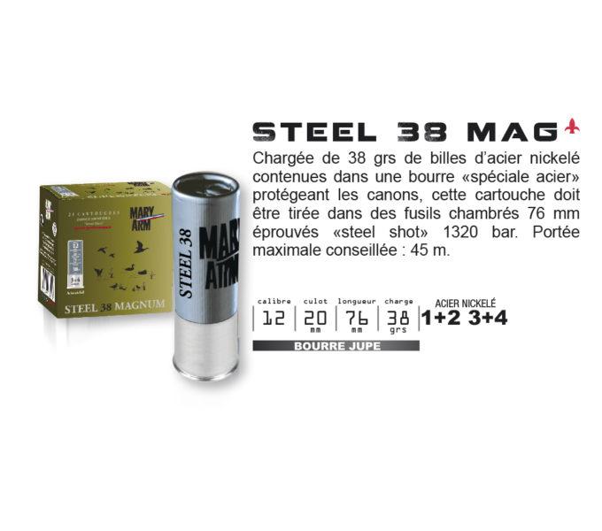 STEEL 38 MAG
