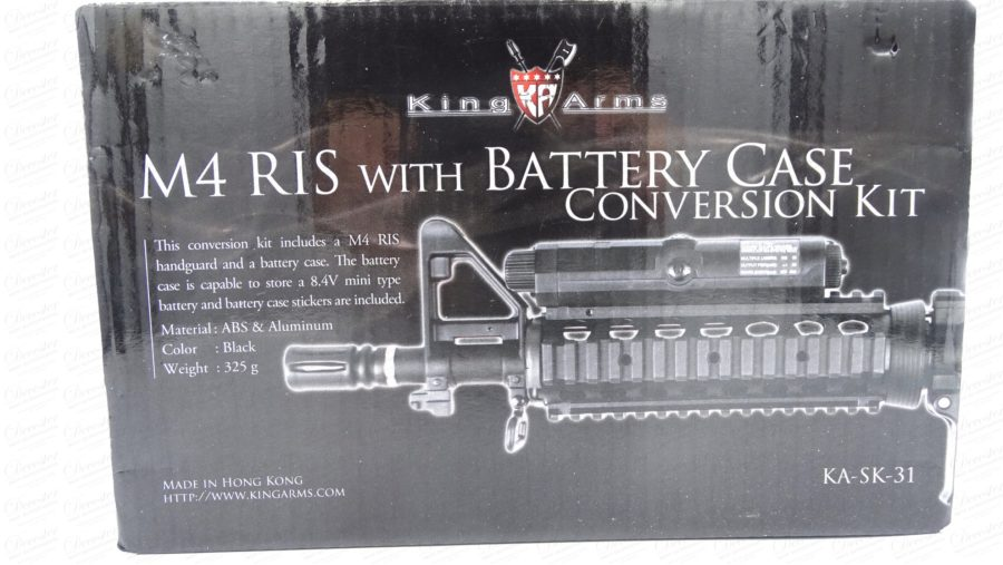 SwissArms M4 RIS Battery Case Conversion Kit