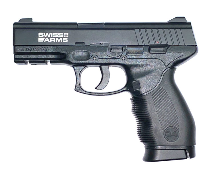 Swiss Arms Pistool SA 24 Steel BB
