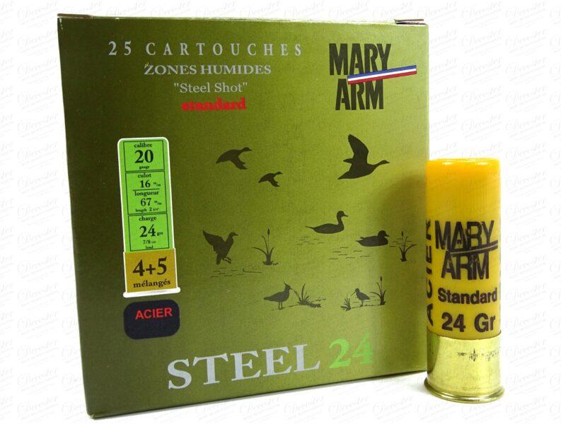 Steel 24gr 4+5 Acier Cal20