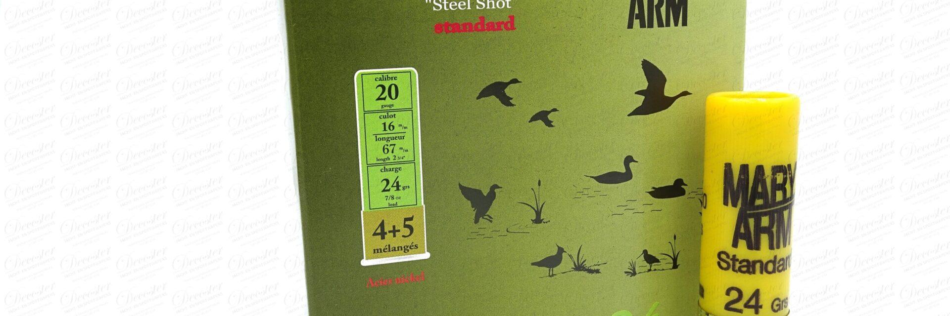 Steel Nickelé 4+5 24gr Cal20