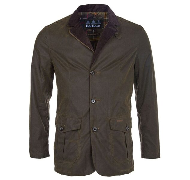 Barbour Lutz Waxed Cotton