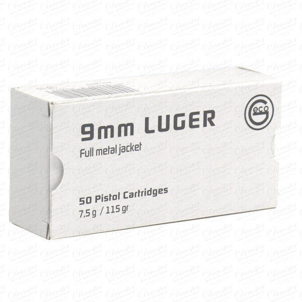 Geco 9mm 115 Gr Fmj White Box