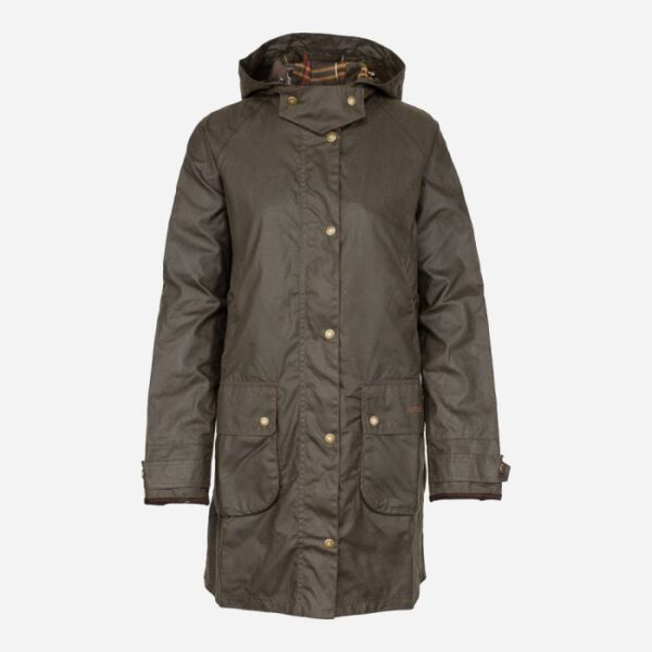 Barbour Marlo Wax Olive 1