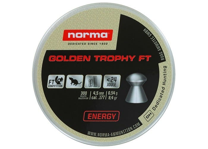 Norma Golden Trophy Ft 4.5 Mm 8.4 Grain
