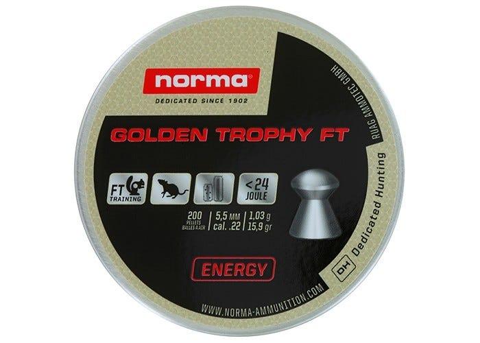 Norma Golden Trophy Ft 5.5 Mm 15.9 Grain